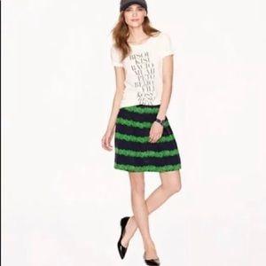 JCrew pleated skirt..